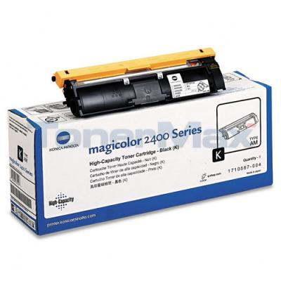 QMS MAGICOLOR 2400 TONER BLACK HY